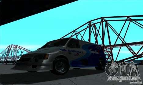 Ford Transit Supervan 3 2004 für GTA San Andreas linke Ansicht