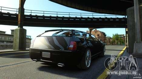 PMP600 Sport Wagon pour GTA 4 Vue arrière de la gauche