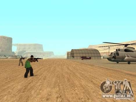 Alliés intellectuelle pour GTA San Andreas deuxième écran