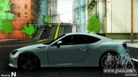 Subaru BRZ v2 für GTA San Andreas zurück linke Ansicht