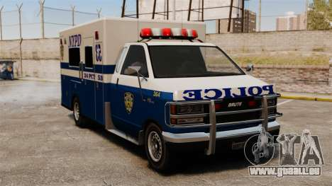 Nouvelle police de van pour GTA 4