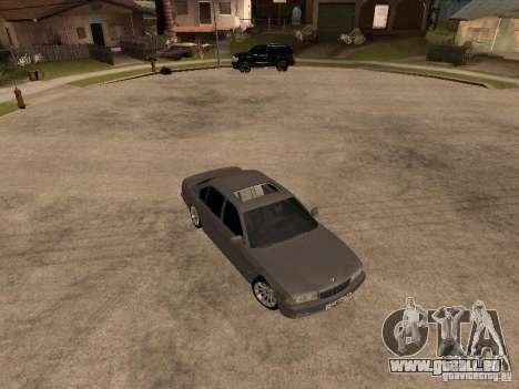 BMW 750i pour GTA San Andreas sur la vue arrière gauche