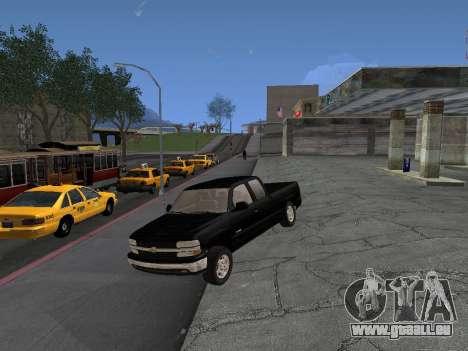 Chevorlet Silverado 2000 für GTA San Andreas zurück linke Ansicht