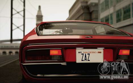Alfa Romeo Montreal 1970 für GTA San Andreas linke Ansicht
