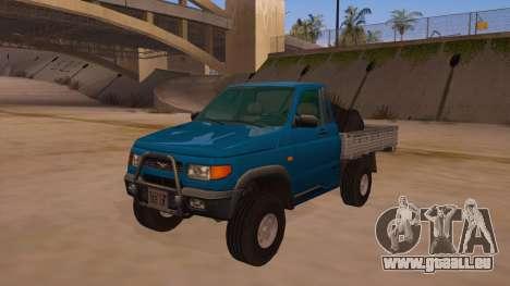 UAZ-2360 für GTA San Andreas Motor