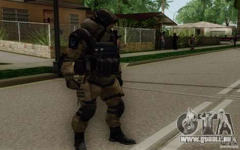 Le médecin de Warface pour GTA San Andreas deuxième écran