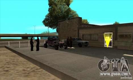 Erneuerung der Fahrschulen in San Fierro V 2.0 F für GTA San Andreas dritten Screenshot