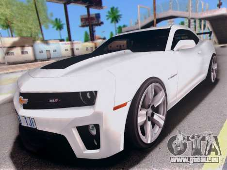 Chevrolet Camaro ZL1 SSX pour GTA San Andreas