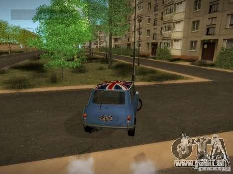 Mini Cooper 1965 für GTA San Andreas rechten Ansicht