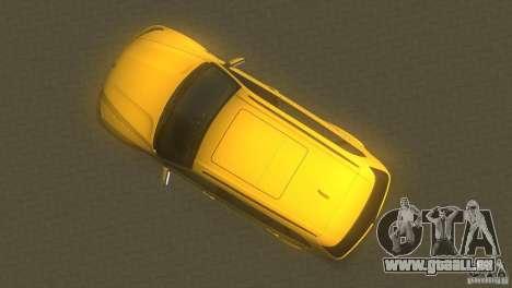 BMW X5 für GTA Vice City rechten Ansicht