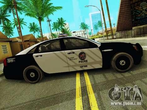 Chevrolet Caprice 2011 Police für GTA San Andreas linke Ansicht