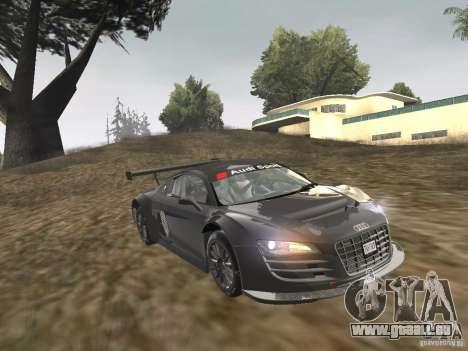 Audi R8 LMS v3.0 für GTA San Andreas zurück linke Ansicht