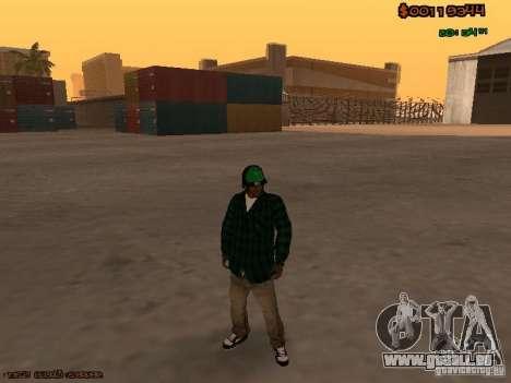 Grove Street Family für GTA San Andreas