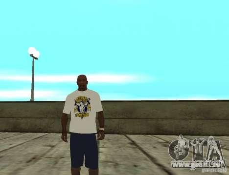 T-shirt WWE John Cena pour GTA San Andreas