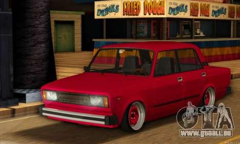 VAZ 2105 Cherry Pie pour GTA San Andreas laissé vue