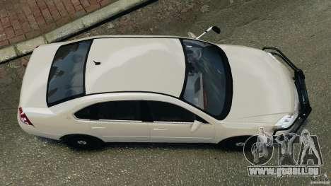 Chevrolet Impala Unmarked Detective [ELS] pour GTA 4 est un droit