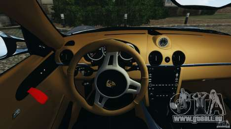 Porsche Cayman R 2012 [RIV] pour le moteur de GTA 4