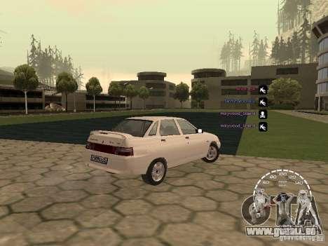 Compteur de vitesse Lada Priora pour GTA San Andreas deuxième écran