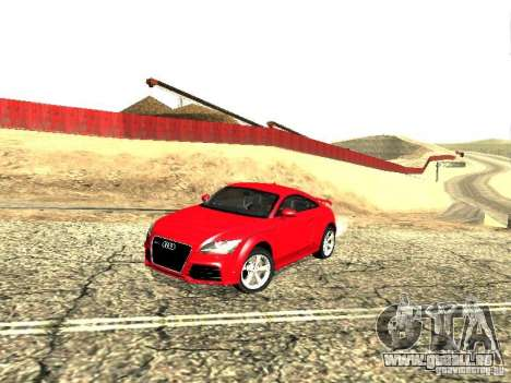Audi TT-RS Coupe 2011 v.2.0 pour GTA San Andreas