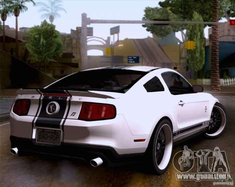 Ford Shelby GT500 Super Snake für GTA San Andreas linke Ansicht