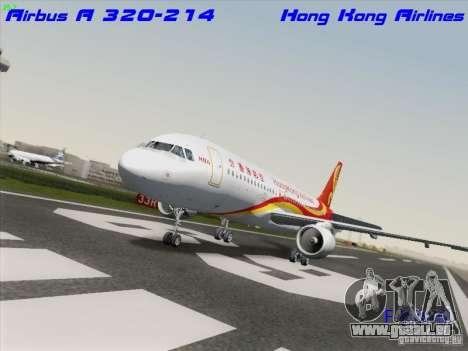 Airbus A320-214 Hong Kong Airlines für GTA San Andreas