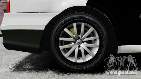 Volkswagen Parati G4 PMESP ELS für GTA 4 Rückansicht