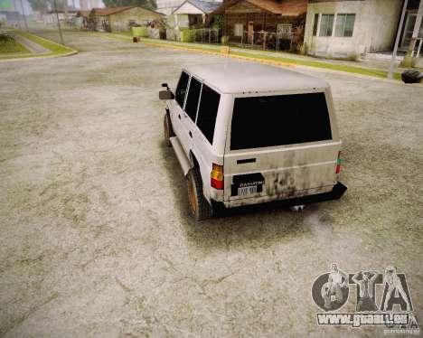 Daihatsu Taft Hiline Long für GTA San Andreas rechten Ansicht