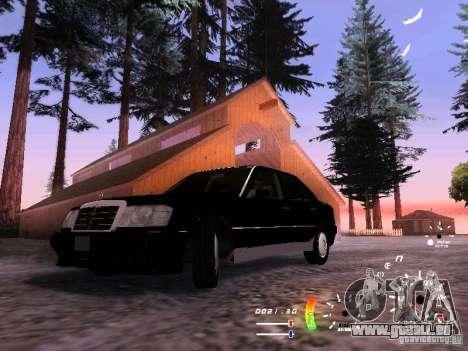 Mercedes-Benz 230E für GTA San Andreas Rückansicht