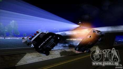 Flics tirer hors machine pour GTA San Andreas quatrième écran