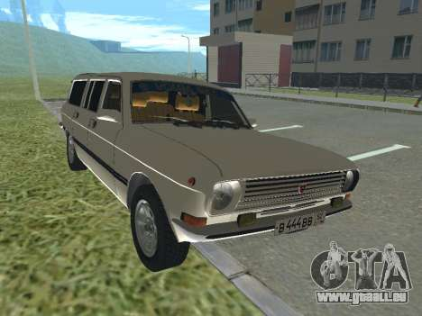 Volga GAZ-24 12 pour GTA San Andreas