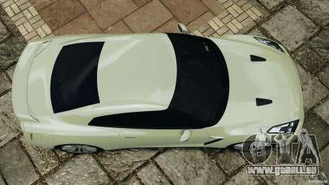 Nissan GT-R 2012 Black Edition pour GTA 4 est un droit