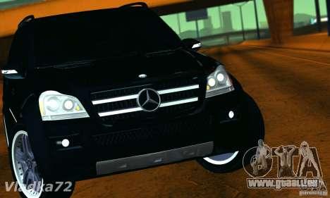 Mercedes-Benz GL500 V.2 für GTA San Andreas rechten Ansicht