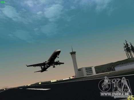 Embraer ERJ 190 USAirways für GTA San Andreas Rückansicht