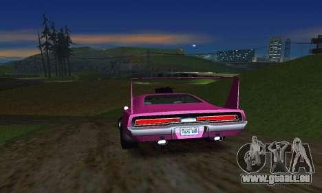 Dodge Charger Daytona SRT10 pour GTA San Andreas vue arrière