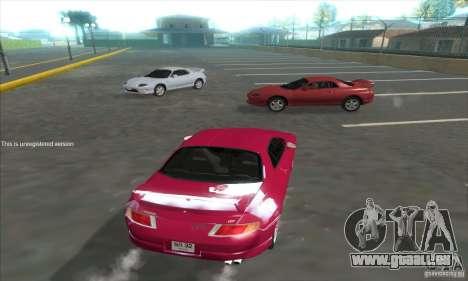 Mitsubishi FTO GP Version R 1998 pour GTA San Andreas sur la vue arrière gauche