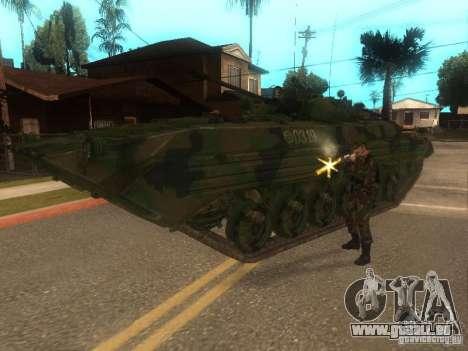 BMP-2 in COD MW2 für GTA San Andreas Rückansicht