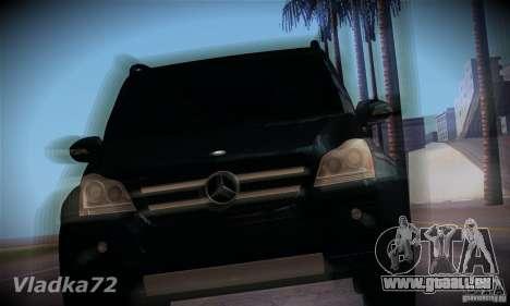 Mercedes-Benz GL500 V.2 für GTA San Andreas Rückansicht