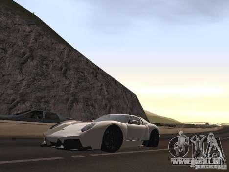 Lamborghini Miura LP670 pour GTA San Andreas vue intérieure