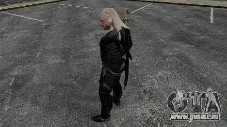 Geralt de Rivia v8 pour GTA 4 quatrième écran