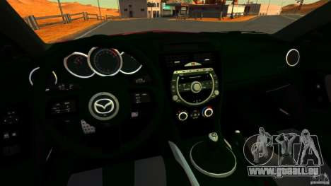 Mazda RX-8 R3 2011 pour GTA 4 Vue arrière