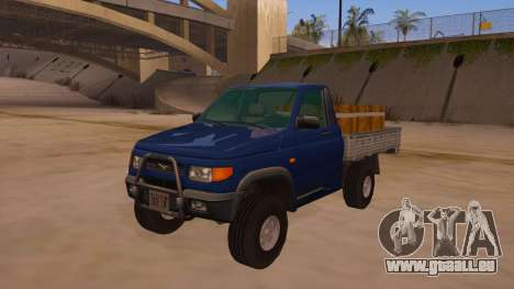 UAZ-2360 für GTA San Andreas Unteransicht