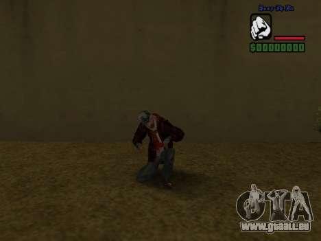 Haut die Bum Jacke für GTA San Andreas sechsten Screenshot