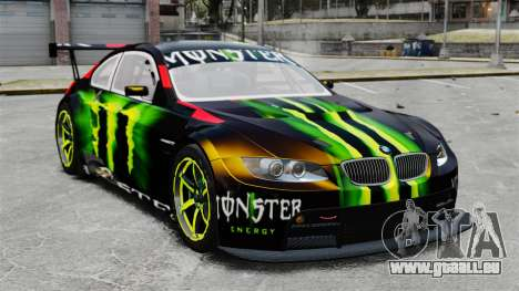 BMW M3 (E90) 2008 Monster Energy v1.2 pour GTA 4