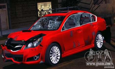 Subaru Legacy B4 2010 für GTA San Andreas Innen