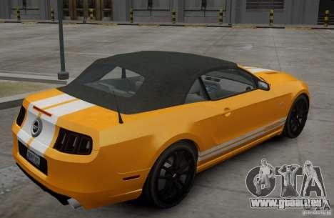 Ford Mustang GT Convertible 2013 pour GTA 4 est un droit