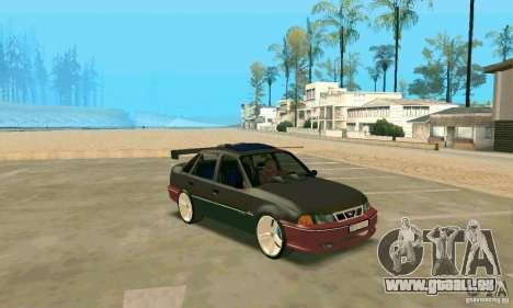 Daewoo Nexia Tuning pour GTA San Andreas laissé vue