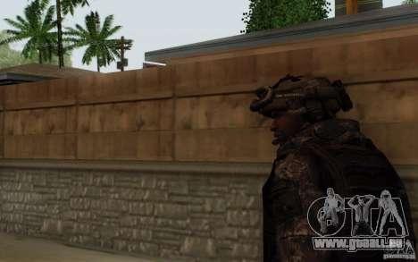 Le sergent Foley de CoD : MW2 pour GTA San Andreas troisième écran