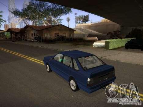 Daewoo-FSO Polonez Atu Plus 1.6 pour GTA San Andreas sur la vue arrière gauche