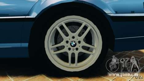 BMW 750iL E38 1998 pour GTA 4 Salon