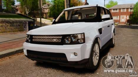 Land Rover Range Rover Sport Supercharged 2010 pour GTA 4